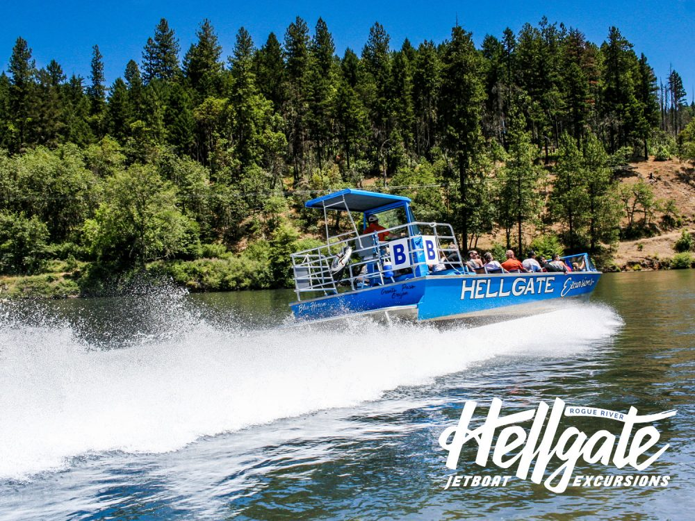 Ride the Rogue River with Hellgate Jetboat Excursions
